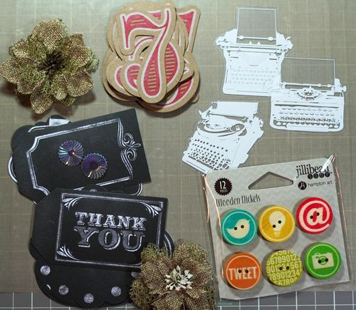 2014 August embellishments